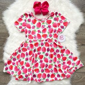 Girl Boutique Strawberry Dress